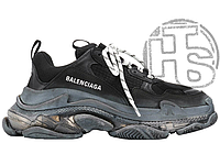 Женские кроссовки Balenciaga Triple S Clear Sole Black 541624W09O11000