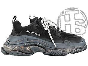 Женские кроссовки Balenciaga Triple S Clear Sole Black 541624W09O11000