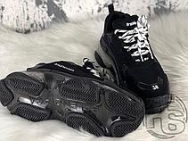 Женские кроссовки Balenciaga Triple S Clear Sole Black 541624W09O11000, фото 3