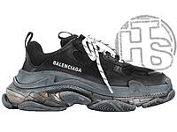 Женские кроссовки Balenciaga Triple S Clear Sole Black 541624W09O11000 40