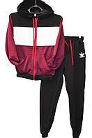 Спортивный костюм adidas для мальчика трикотаж на манжетах (Р. 7-12лет).Оптовая продажа  на 7км(Одесса)