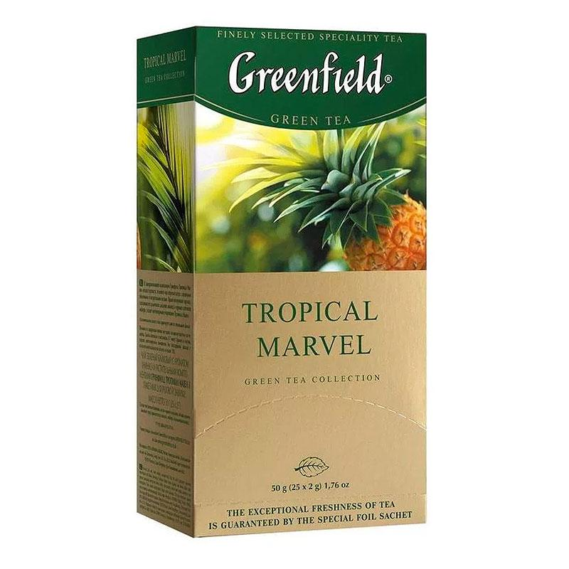 Зеленый чай Greenfield Tropical Marvel (25 шт) Ананас
