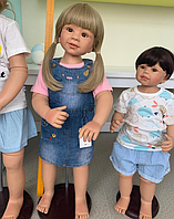 Кукла реборн девочка Юличка87 см. Арт.( 01385 )
