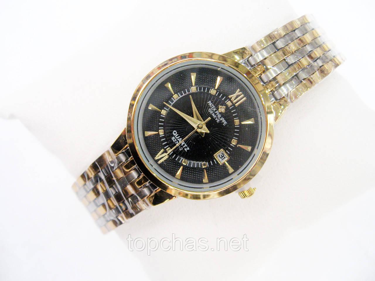 Мужские (Женские) кварцевые наручные часы Patek Philippe Mini на  металлическом ремешке effa52457e3