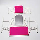 Мебель для кукол - столик с зеркалом и стул, фото 5