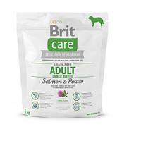 Сухой корм для собак весом от 25 кг Brit Care GF Adult Large Breed Salmon & Potato 1 кг