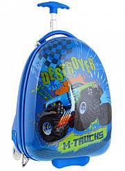 Детский чемодан дорожный на колесах «YES» M-Trucks