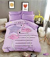 Комплект постельного белья евро размера