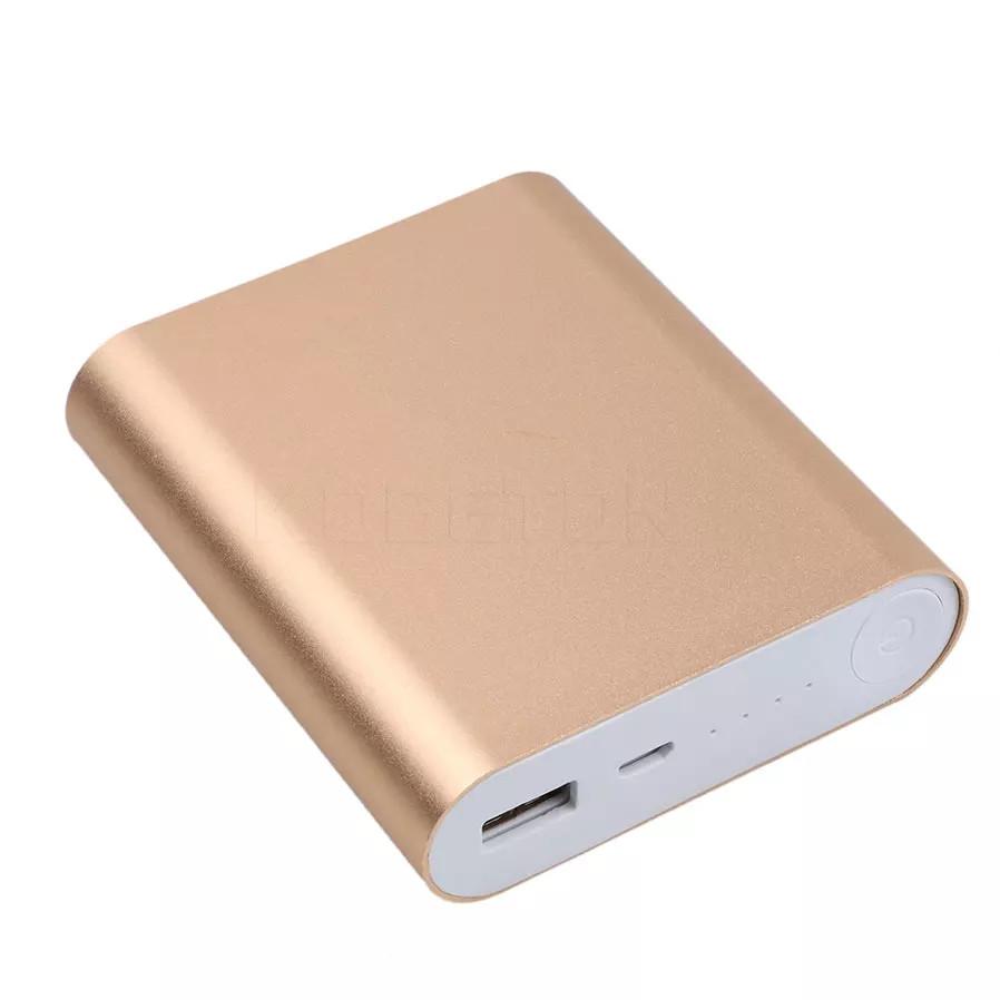 Корпус Power Bank с контроллером на 4 АКБ 18650 золотистый