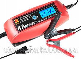 Автомобильное зарядное устройство с микропроцессором SENA 4V