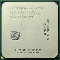 Процессор AMD Phenom II X4 965 Black Edition 3.4GHz/8MB/HT 2000MHz (HDZ965FBK4DGM) sAM3, tray