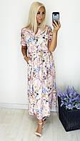 Модное женское легкое платье,ткань супер софт,размеры:52,54,56,58., фото 1