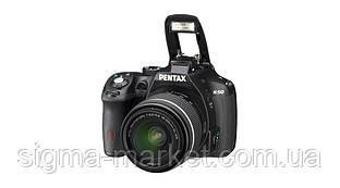 Фотокамера Pentax K-50 Black + DAL 18-55WR