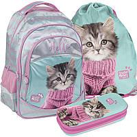 Школьный рюкзак Paso, комплект 3 шт.