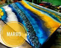 Теплый желтый красительдля смол Марбо Marbo (Италия), 15 мл, концентриров.