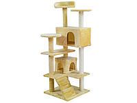 Когтеточка домик для кота 130см PETHAUS 202