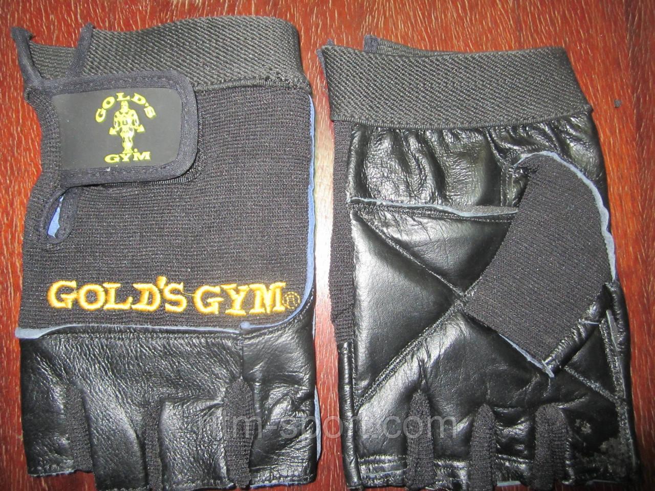 Перчатки тяжелоатлетические GOLDS GYM