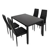 Стол + 4 кресла для столовой Кухонный набор