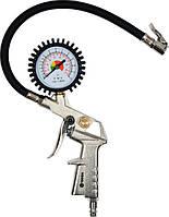 Пистолет для подкачки шин Vorel + манометр