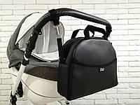 Сумка на коляску универсальная Z&D New Еко кожа (Черный), фото 1