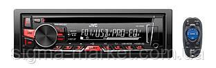 Автомагнитола JVC KD-R469EY Black