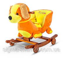 Детская машинка-каталка собачка TOBI TOYS