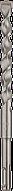 Бур Twister Plus (SDS-plus) 10х210 мм Diager (без блистера)