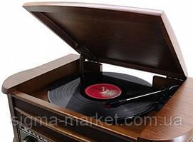 Ретро проигрыватель Soundmaster 540 CD USB РАДИО FM, AM КАССЕТА/ Граммофон