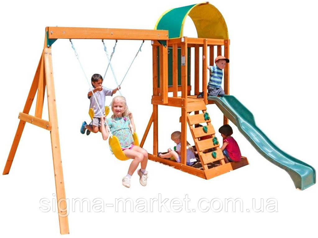 Садовая детская горка с песочницей KIDKRAFT 6в1