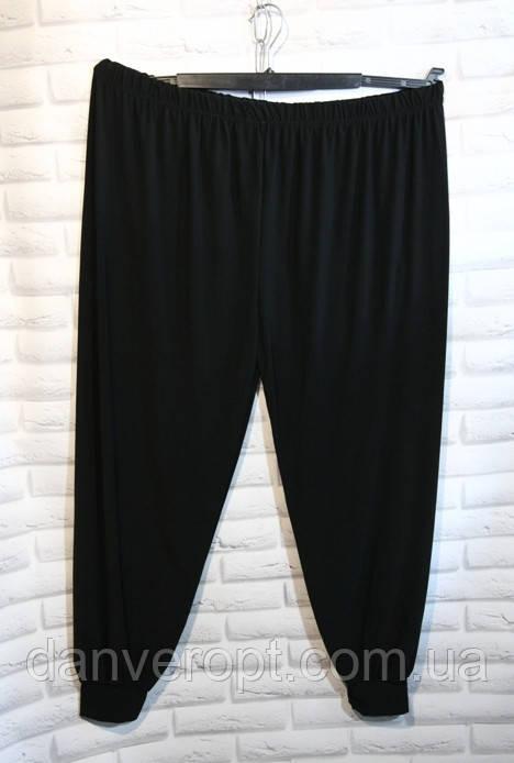 Брюки женские модные на манжетах размер батал 56-64 купить оптом со склада 7км Одесса