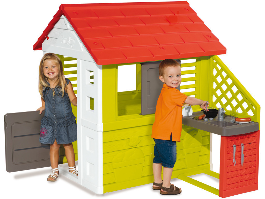 Игровой домик с кухней Smoby 810702