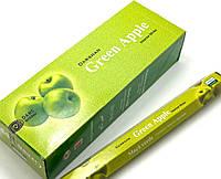 Благовония Green apple(Зелёное яблоко)  (Darshan)