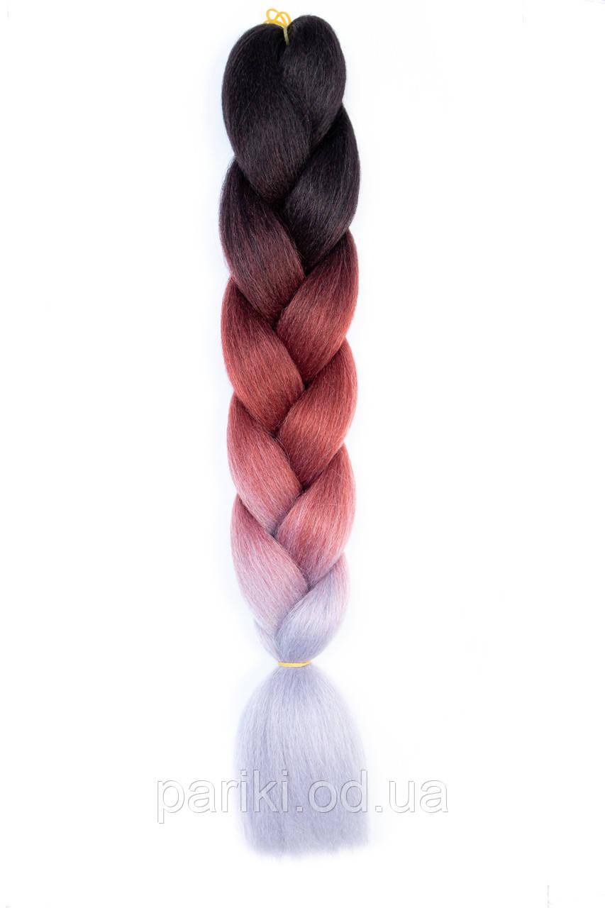 КАНЕКАЛОН  80 см. 165 гр. Омбре3   Jumbo braid