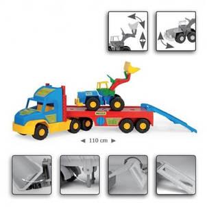 Эвакуатор с трактором Wader 36520, фото 2