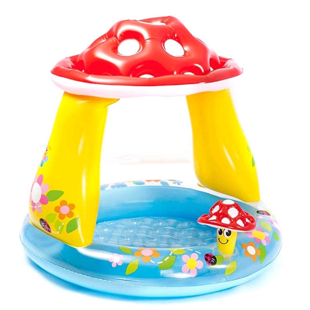 """Бассейн Intex """"Mushroom Baby Pool"""" 45л, 102х89см."""