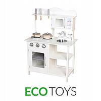 Деревянная кухня с аксессуарами для детей ECOTOYS