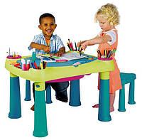 Детский стол для творчества + 2 стула, фото 1