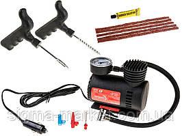 Комплект для быстрого ремонта шин + компрессор