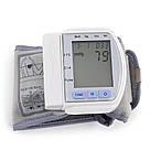 Цифровой тонометр на запястье Blood Pressure Monitor CK-102S / аппарат для измерения давления и пульса, фото 5