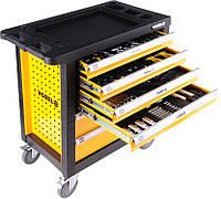 Тележка с инструментами Vorel 166 элементов, 6 ящиков