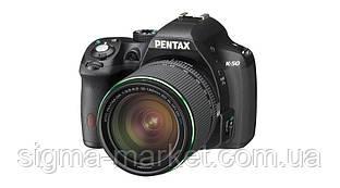 Фотокамера Pentax K-50 Black + DA 18-135WR