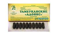 Тамбуканский Адонис с экстрактом лечебной грязи озера Тамбукан гомеопатические суппозитории 10 шт
