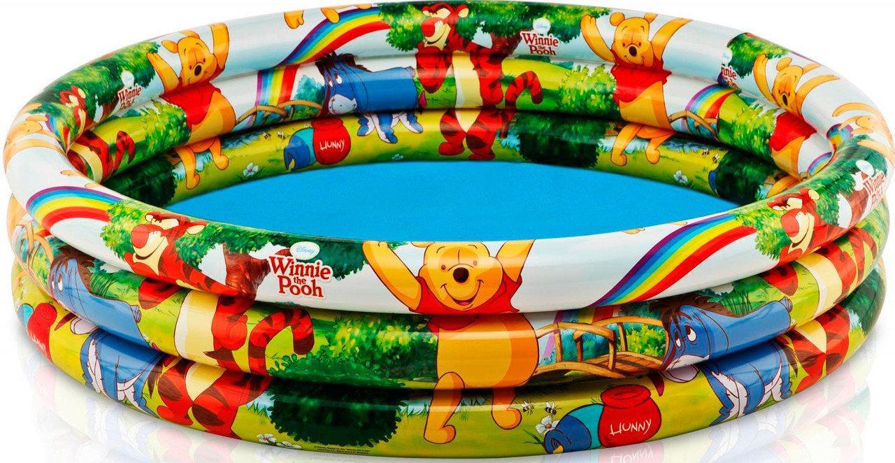 "Бассейн Intex ""Winnie The Pooh Three Ring Pool"" 299л, 147х33см."