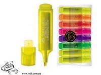 Текстовый маркер Faber-Castell Superfl. 1-5мм желтый