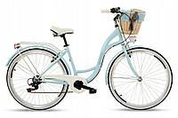 Женский городской велосипед GOETZE 28 Mood 6b Shiman + корзина