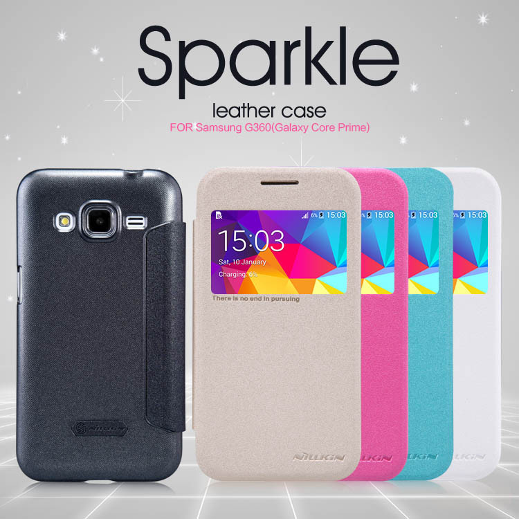 Чехол-книга для Samsung Core Prime G360 G361 Nillkin Sparkle