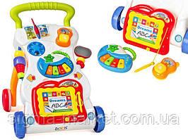 Образовательная машинка-каталка детская (3в1)