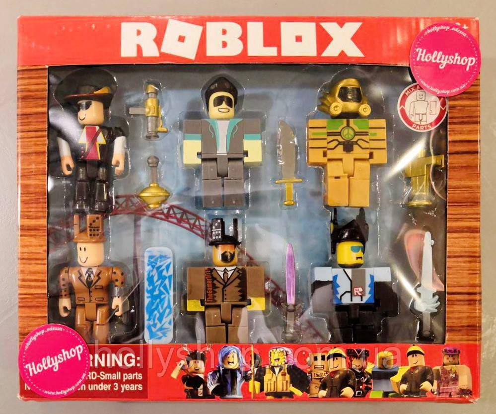 Набор Легенды Роблокс (Roblox) коллекционные фигурки — Legends of Roblox