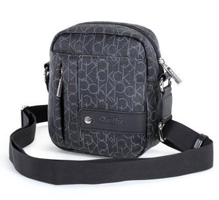 Дизайнерская мужская сумка с графическим рисунком Dolly (Долли) 134