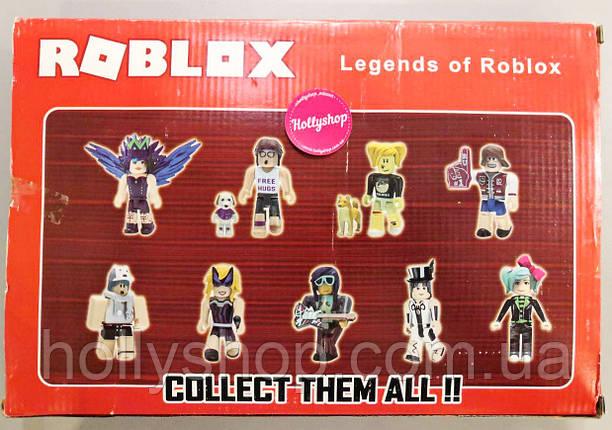 """Роблокс Набор из 9 фигурок Roblox """"Legends of Roblox"""" , фото 2"""